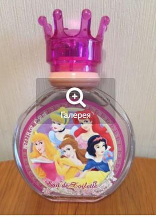 Disney princess принцессы туалетная вода для детей 50 m