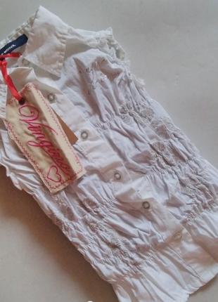 Рубашка блузка жатка vingino (италия) на 2,4, 6 лет