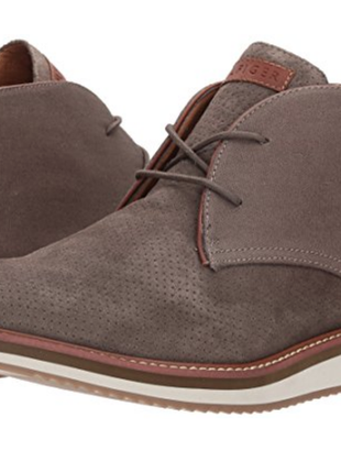 Ботинки tommy hilfiger, натуральная замша р-р 44 оригинал