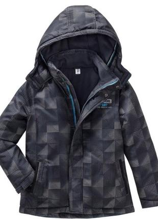 Теплая зимняя куртка на мальчика 13 - 14 лет, р. 164, topolino