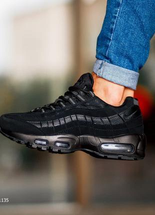 "Мужские кроссовки ""Nike Air Max 95 Black"""