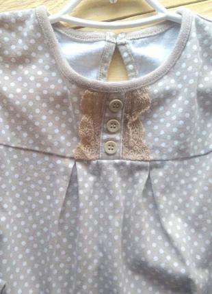 Туника mothercare 12-18м кофта блуза