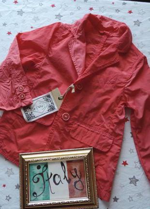 Плащ ветровка ttilika 5-6л 110-116см куртка