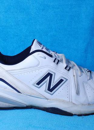 New balance 608 кроссовки кожа 45 размер