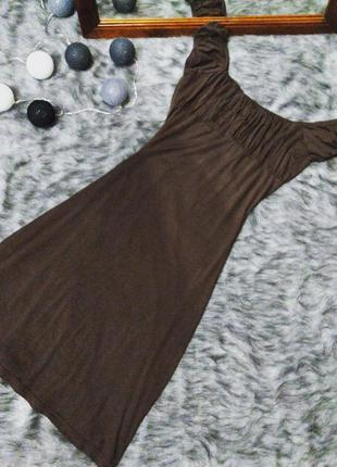 Платье сарафан из итальянского трикотажа
