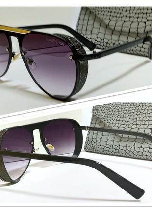 Солнцезащитные очки авиаторы с шорами