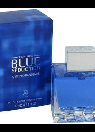 Мужская туалетная вода Antonio Banderas Blue Seduction 100 мл ...