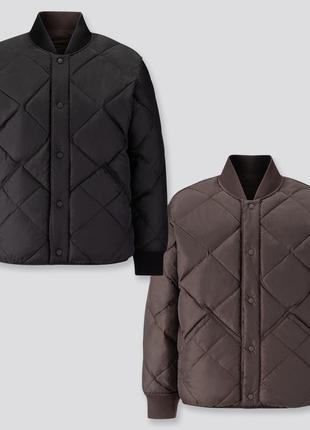 Мужская двухсторонняя куртка uniqlo u