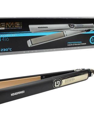 Профессиональная плойка выравниватель для волос Gemei GM-416