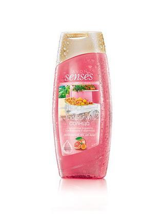 Розпродаж!!avon senses  гель для душу 250 мл з ароматом рожево...