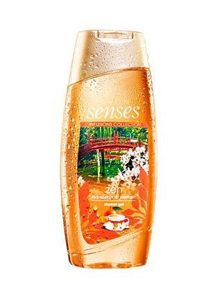 Розпродаж!!! гель для душу avon senses «мандарин і жасмин» 250...
