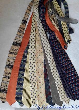 Новые фирменные стильные аккуратные галстуки на разный вкус со...