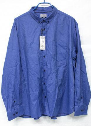 M&s размер xxxl рубашка мужская большого размера новая с бирками