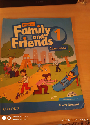 Family and frends of class book!