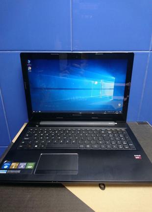 "Lenovo Z50-75, 15,6"", A10-7300, 8Gb DDR3, Radeon R6 1Gb, SSD 120G"