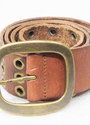 Ремень мужской кожаный next  размер m вся длина 104, на талию ...
