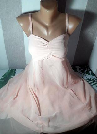 Распродажа нежное шифоновое платье сарафан