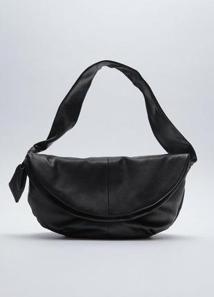 Zara.женская сумка из натуральной кожи.португалия.средняя.р30/24