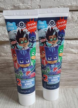 Deliplus Испания зубной гель PJ Masks Герои в масках