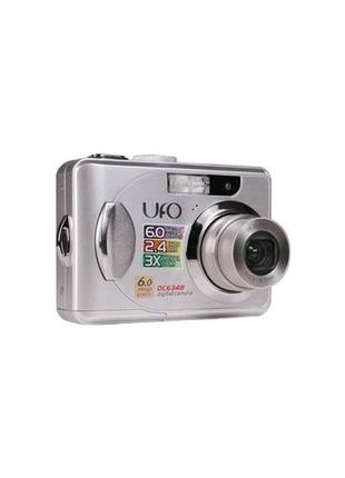 Цифровая фотокамера фотоаппарат UFO DC 6348 Зарядное Varta 57062