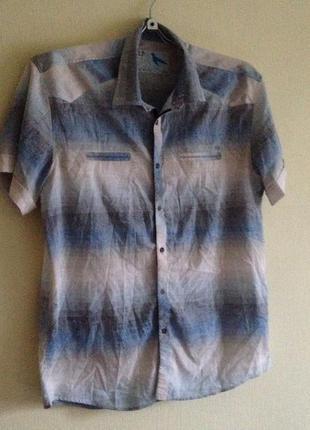 🎁1+1=3 рубашка мужская 52р.