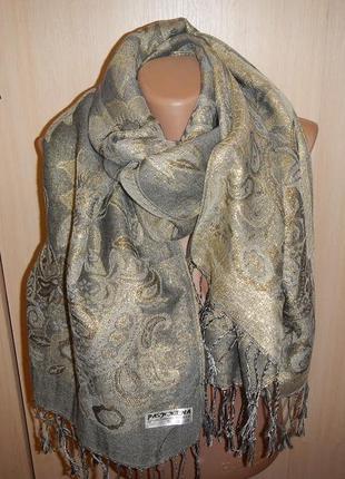 Пашмина pashmina р. 165 х68см палантин шарф