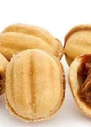Орешки сладкие со сгущённым молоком