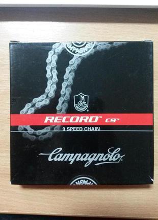 Цепь Campagnolo Record C9 (Италия) для 8/9 скоростных кассет