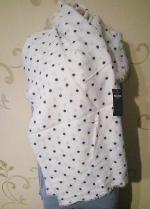 Hollister . новый в упаковке . мягкий теплый платок шарф шаль ...