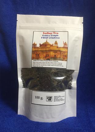 """Высококачественный черный чай FBOP(Chubwa)""""Золотой храм"""""""