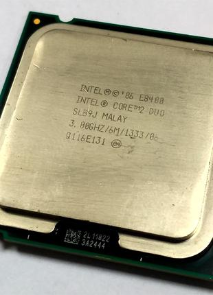Процессор для ПК Intel® Core™2 Duo E8400 (2 ядра по 3.0GHz) Socke