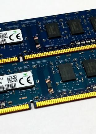 Память для ПК hynix DDR3 1600MHz 2x4GB 8GB