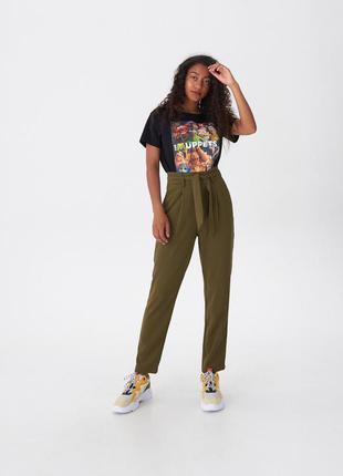 Стильные брюки с высокой талией house польша