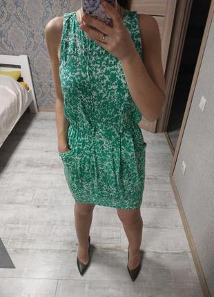 Легкое летнее платье в принт