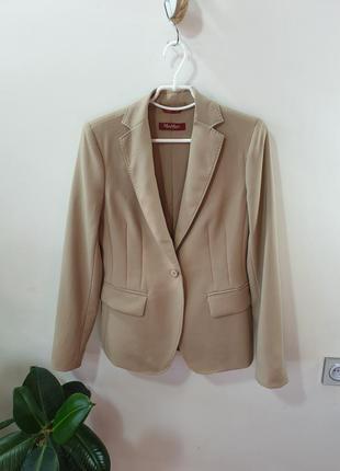 Шерстяной пиджак италия max mara studio