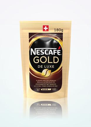 Кофе NESCAFE Gold De Luxe Швейцария Оригинал
