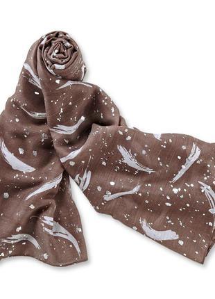 Незаменимый вариант в гардеробе - объемный шарф палантин tchib...
