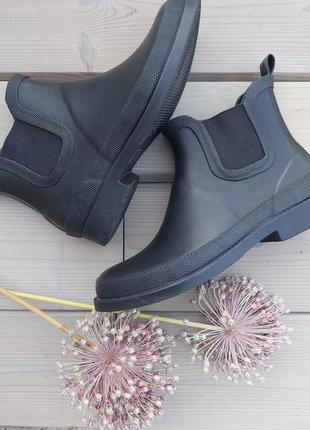 Резиновие сапоги, гумаки , резинові чоботи 36/37 р., осінні че...