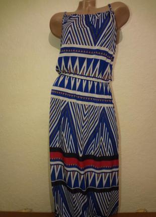 Длинное платье/сарафан размер m l
