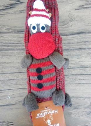 Новорічні шкарпетки reindeer 3