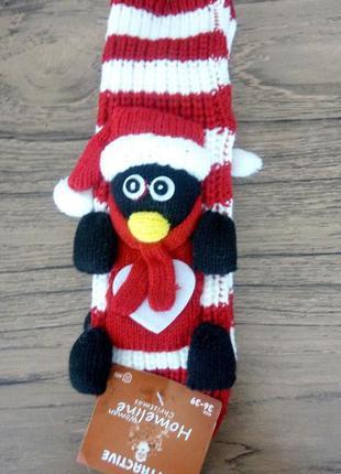 Новорічні шкарпетки penguin 1
