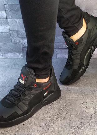 Кожаные мужские кроссовки Puma