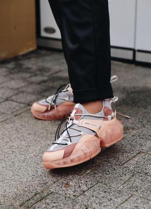 Шикарные женские эксклюзивные кроссовки jimmy choo 😍 (весна/ л...