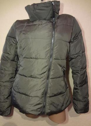Теплая зимняя куртка типа пуховик costes basic размер m l basics