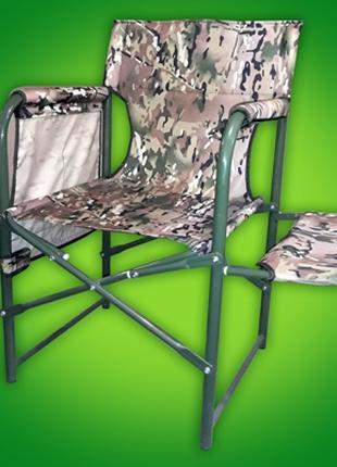 Раскладное кресло - стул туристический Рыбак с полочкой