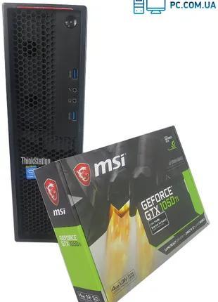 БУ Lenovo P300 SFF 4х Core I7 4790 16GB RAM 250GB SSD +  GTX 1050