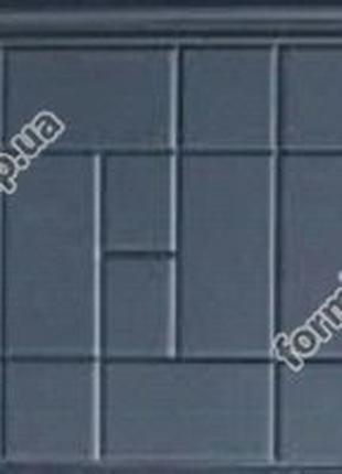 Формы опорных плит под памятники №1-3