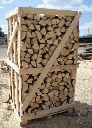Дрова колоті ( дуб, бук, граб) Камінні по 2 складо метри 2800 грн