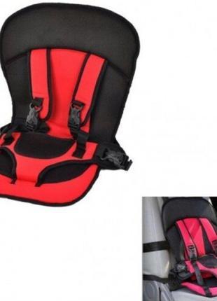 Бескаркасное детское автокресло Multi Function Car Cushion Кра...