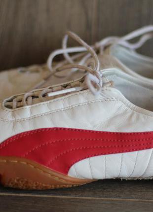 Кожаные кроссовки puma 38-39